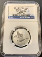 2014 Canada S$20 Canada Goose First Release NGC SP 69 093 ENN COINS