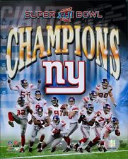 New York Giants 2008 Team Champions Licensed NFL Unsigned Glossy 8x10 Photo D