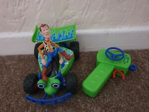 Disney Pixar Toy Story 4 RC Turbo Buggy Woody Remote Controlled Car
