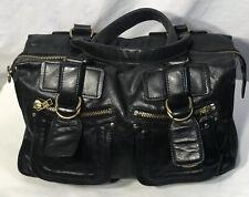 Chloe  RARE Large Black Handbag Satchel