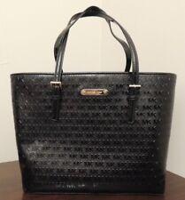 $268 Michael Kors Jet Set Travel Carryall Tote Handbag Pures 38T8XTVT2A Leather