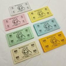 Monopoly NHL Hockey Edition Paper Money Set 1999 Complete Replacement Part
