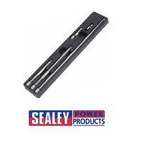 """Sealey Wobble Extension Bar Set 5pc 3/8"""" Sq Drive ak767"""