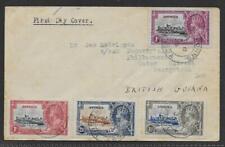 ANTIGUA 1935 Silver Jubilee set of 4 fine - 12341