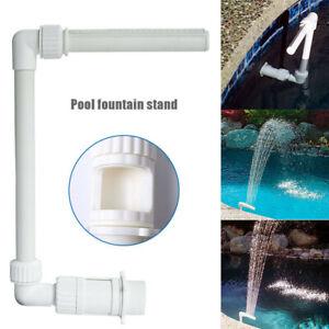 Swimming Pool Waterfall Fountain Spray Connector 26*40*19cm Pool Yard Decor