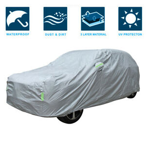 SUV Universal Fit Car Cover Outdoor Waterproof UV Rain All weather Protection US