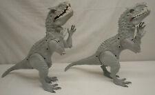 "2 Jurassic Park World 20"" Electronic Lights & Sound Indominus Rex Dinosaur"