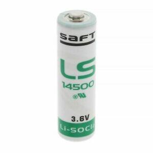 Genuine Saft 3.6V AA Lithium Battery Li-SOCl2 LS14500 LS 14500 2600mAh Cell - UK