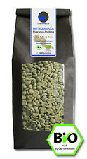 Bio Rohkaffee - Grüner Kaffee Nicaragua Jinotega (ganze Kaffeebohnen 1000g)