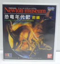 Newton Museum Dinosaurs Encyclopedia Vol. 1-bandai playdia Japan RARE