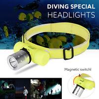 Super Bright XM-L T6 LED 18650 Headlamp Headlight Flashlight Head Light Lamp
