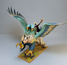 THE EMPIRE WIZARD LORD ON GRIFFON PAINTED