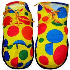Clown Schuhe gepunktet Clownschuhe Damen Herren Clownschuhe Kostümzubehör