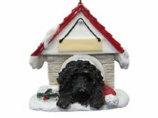 Black Labradoodle Ornament A Great Gift For Black Labradoodle Owners Hand Painte