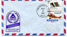 FFC 1983 First Flight Delta Air Lines Tallahassee US Postal Service