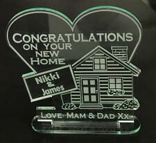 personalised House Warming Gift New Home Keepsake Wedding First Moving Card