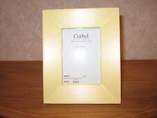 CORBEL *NEW* Cadre porte-photo bois jaune LxH photo=9x13cm