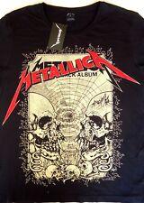 METALLICA-The Black Album- Men's T-Shirt-Live Nation 2014-Size L- NEW