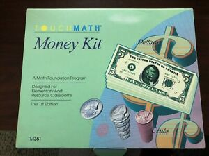 Touch Math Money Kit 1st Edition Box Used