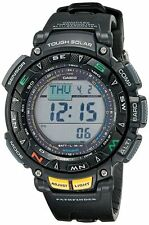 Casio Men's PAG240-1CR Pathfinder Solar Power Triple Sensor Sport Watch