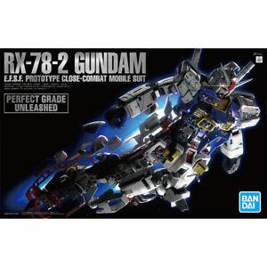 Bandai Gundam PG Unleashed 1/60 RX-78-2 Gundam Gunpla Plastic Model Kit