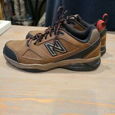 New Balance 623 Brown Leather Water Resistant Sneakers Hiking Trail Shoes Mens 8