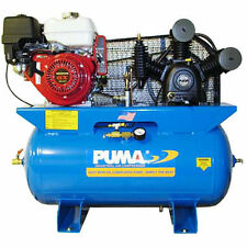Puma 8-HP 30-Gallon Two-Stage Truck Mount Air Compressor w/ Honda Engine