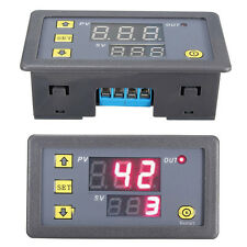 DC 12V Cycle Timer Delay Dual Display Relay Module 0-999 hours/minutes/seconds
