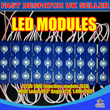 20x5730 3LED SMD Module Injection Strip Light BLUE IP65 12V 1.4W Storefront Sign