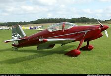 RV-6F  Sport Scale RC Model AIrplane Printed Building  Plans  52 inch wing span