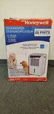 DH50W Honeywell Portable Dehumidifier 50-Pint, Energy Star