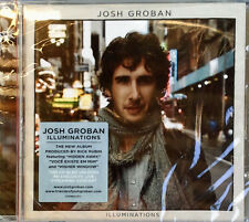 JOSH GROBAN - ILLUMINATIONS - REPRISE - 2010 CD + HYPE STICKER - STILL SEALED