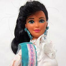 Vintage 1989 Western Fun Nia Barbie doll