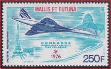 WALLIS ET FUTUNA PA N°71** Avion, Concorde 1976, TB Aircraft MNH