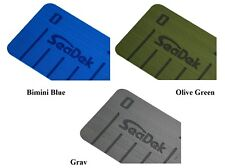 "SeaDek 4""x38""x3mm Foam Fish Ruler Non Skid 3M Stick On Marine - Brushed Pattern"