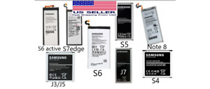 Battery Replacement For Samsung Galaxy Note 8, S4, S5, S6, S6 Active, S7 Edge, J