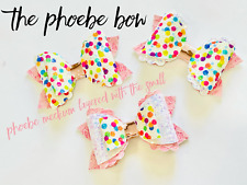 The Phoebe Hair Bow Trace and Cut Template