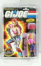 Gi Joe Dreadnok ZARANA 1986 MOC With Earings Hasbro Factory Sealed Action Figure