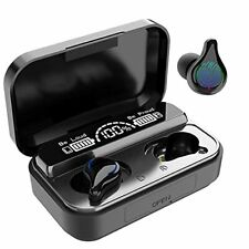 New listing Wireless Earbuds Bluetooth 5.2 in-Ear Headphones w/ 100H Playtime Charging Case