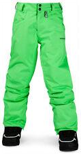 Pantalones Esquí Snowboard Nieve,niños,Volcom Battlefield INS Pantalones,talla