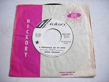 PROMO w SLEEVE Leona Williams A Gentleman on my Mind / Out of Hand '72 45rpm VG+
