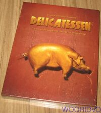 DELICATESSEN / Jean-Pierre Jeune / FULL SLIP CASE BLU-RAY LIMITED EDITION SEALED