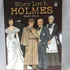 Sherlock Holmes Actors Movie Paper Dolls Tom Tierney Dr Watson Moriarty