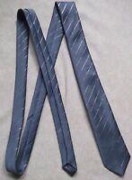 Vintage Tie MENS Necktie Retro SPARKLING SILVER