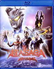 """Hideki Oka """"Ultraman Saga"""" Daigo Japan 2012 Action, Sci-Fi Region  A Blu-Ray"""