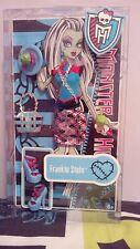 Frankie Stein Fashion pack New in box Monster high doll creepateria coffin bean