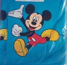 Vintage Disney Table Cover Mickey Mouse Hallmark Wow Mickey  54x89 Party 5 avail
