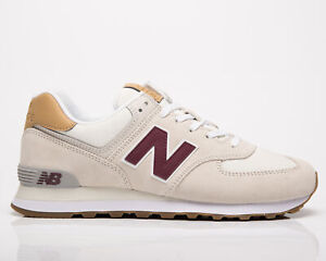 New Balance 574 Men's Timberwolf Grey Oak Low Casual Lifestyle Sneakers Shoes