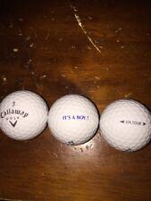 (1) Its A Boy Logo Golf Ball