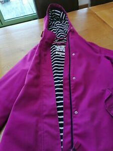Joules coast coat used condition size 10 in Berry